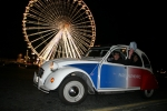Discover Paris in authentic 2CV