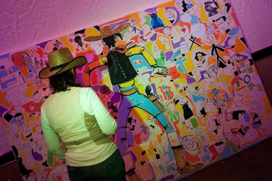 Team building, Mural for fun - 2