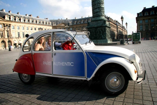 Team building, Discover Paris in authentic 2CV - 4